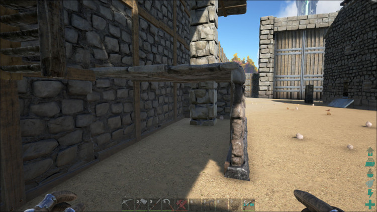In Ark You Can Help Protect Yourself Against Wall Glitches By Double  Layering The Walls.