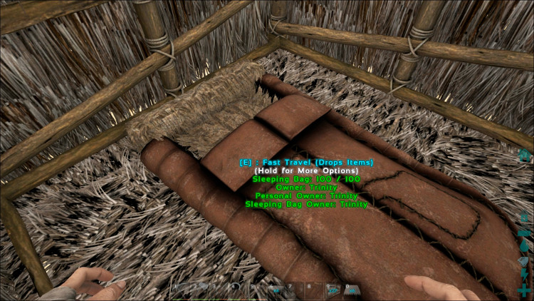 A single-foundation house is too small to hold more than one or two items & Your First House - Ark: Survival Evolved
