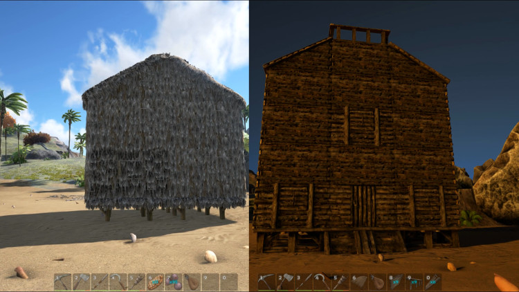Detailed guide to base and structure upgrades in Ark: Survival Evolved.