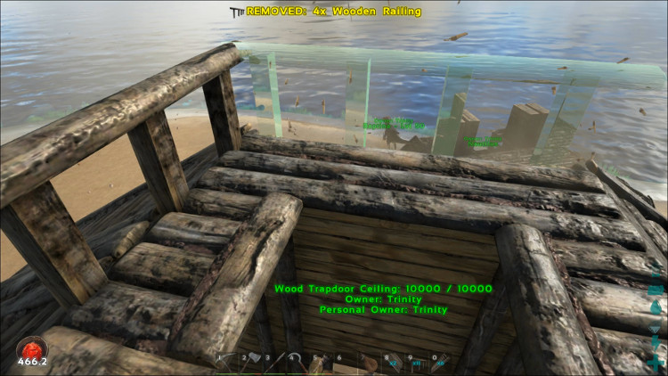 You can install railings in Ark in the same way as walls. Railings can also & Upgrading Your Base - Ark: Survival Evolved