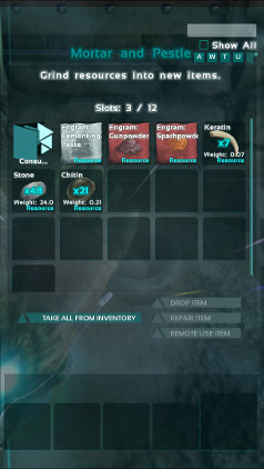 How To Use Crafting Station Ark