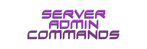A complete list of the available Admin Commands for Ark: Survival Evolved Dedicated Servers.