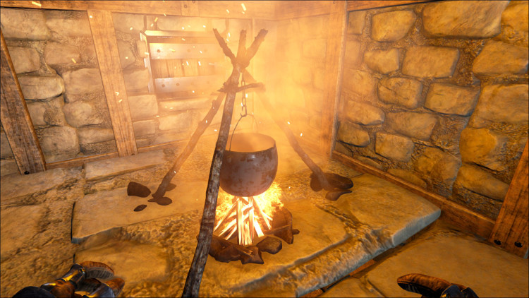 The Cooking Pot in Ark is used both to create the Rockwell Recipes and to create your own custom rp recipes.