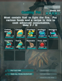 Cooking with the cooking pot ark survival evolved in this image the focal chili is being made in the cooking pot it is forumfinder Gallery