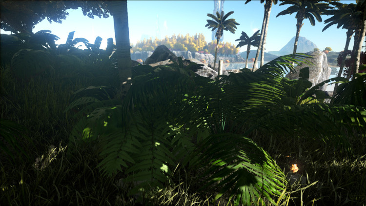 Harvesting the various bushes in Ark will provide you with berries and seeds. You can harvest by hand, but it is much faster with Dino Power!