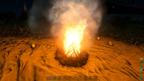 Getting a good supply of both food and water in Ark: Survival Evolved is the first step to survival.