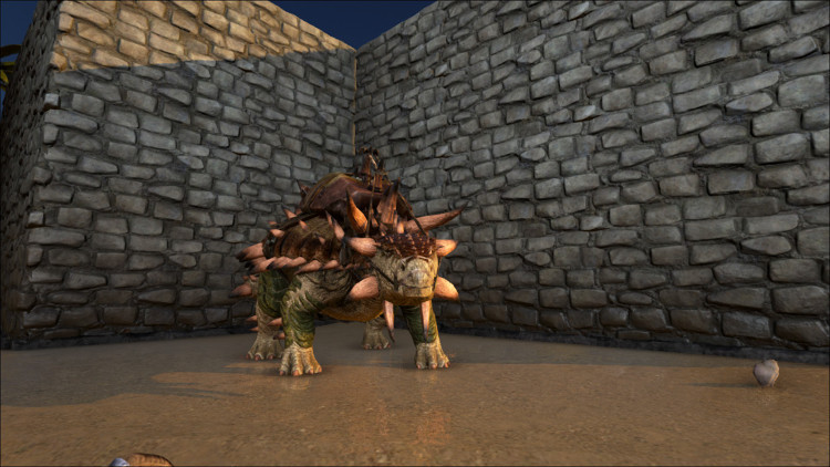 The Ankylosaurus excels at harvesting Obsidian in Ark.