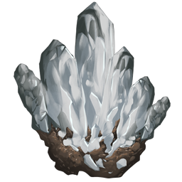 Crystal is an uncommon to rare resource in Ark that is often used for advanced crafting.