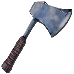 The Metal Hatchet is the main hand held tool for gathering wood in Ark. It will also produce small amounts of Thatch.